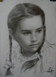 Портрет,  нарисовать,  на заказ,  по фото,  недорого